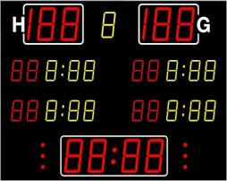 Sport-Anzeigetafel
