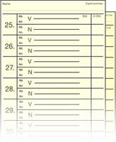 Stempelkarten